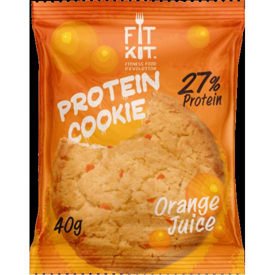 FIT KIT Protein Cookie 40гр, Апельсиновый сок