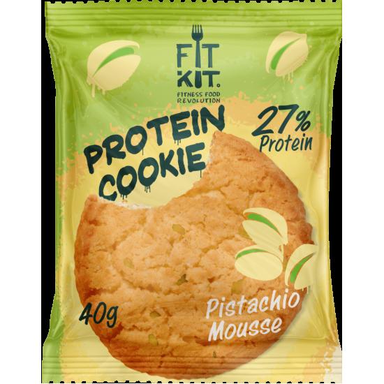 FIT KIT Protein Cookie 40гр, Фисташковый мусс