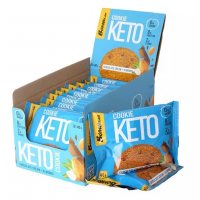 BOMBBAR KETO Cookie 40г, Шоколад с миндалем