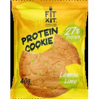 FIT KIT Protein Cookie 40гр, Лимон-лайм