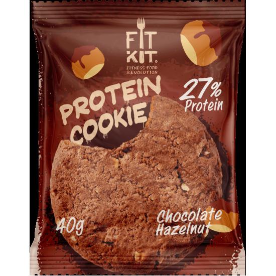 FIT KIT Protein Cookie 40гр, Шоколад-фундук