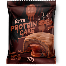 FIT KIT Extra PROTEIN CAKE 70гр, Тройной шоколад