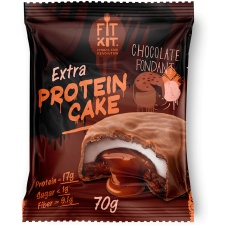 FIT KIT Extra PROTEIN CAKE 70гр, Шоколадный фондан