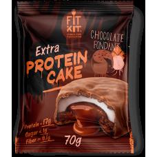 FIT KIT Extra PROTEIN CAKE 70гр, Шоколадный фондан