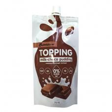 Bombbar Низкокалорийный топпинг 240г, Молочно-шоколадный пудинг