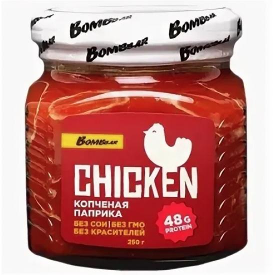 BOMBBAR Филе куриной грудки 250г, Копченая паприка