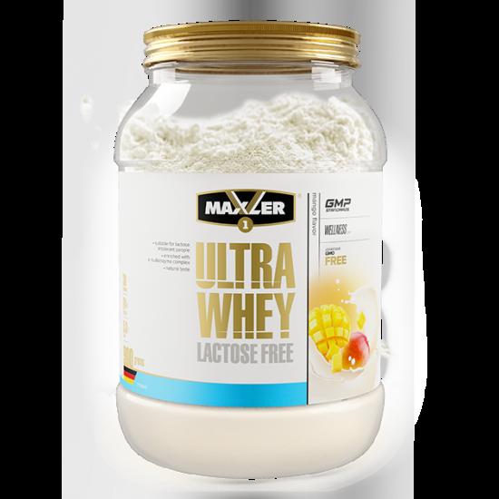 MAXLER ULTRA WHEY Lactose Free 900 гр, Манго
