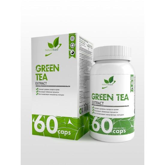 NaturalSupp GREEN TEA extract 60капс,