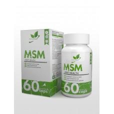 NaturalSupp MSM 60капс,