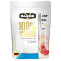 MAXLER 100% ISOLATE 900 г, Клубника