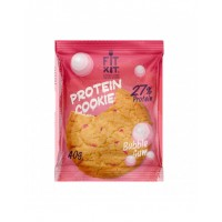 FIT KIT Protein Cookie 40гр, Бабл-гам