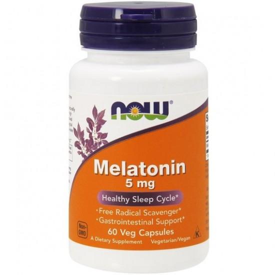 NOW Melatonin 5 мг 60 кап,