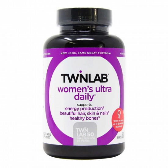 TWINLAB Women`s Ultra Multi Daily 120 капс,