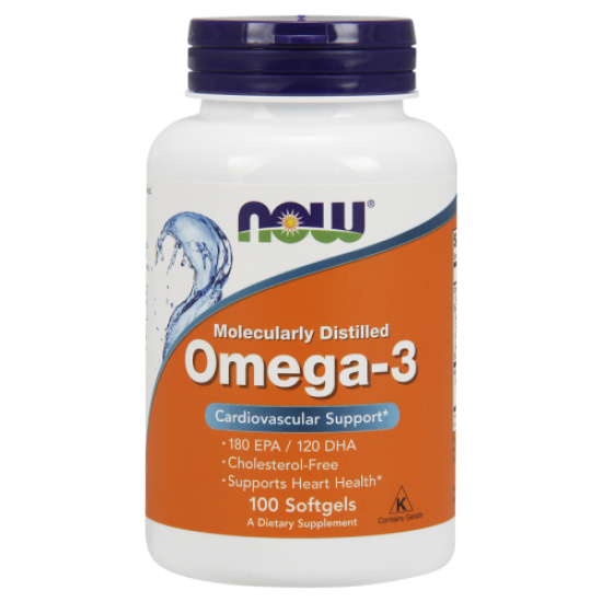 NOW Omega 3 100 кап,