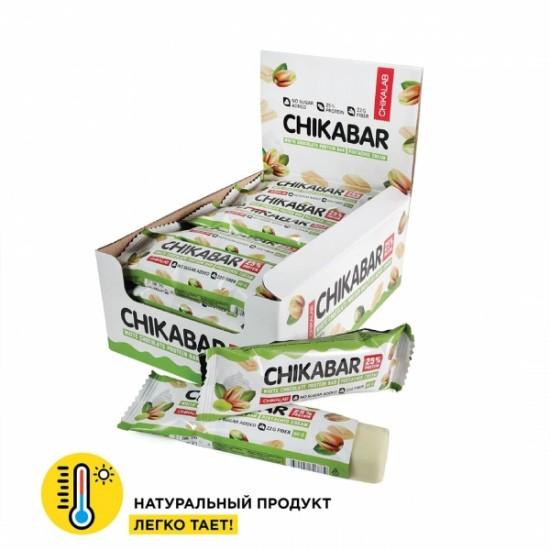 CHIKALAB Протеиновый батончик CHIKABAR 60г, Фисташковый крем