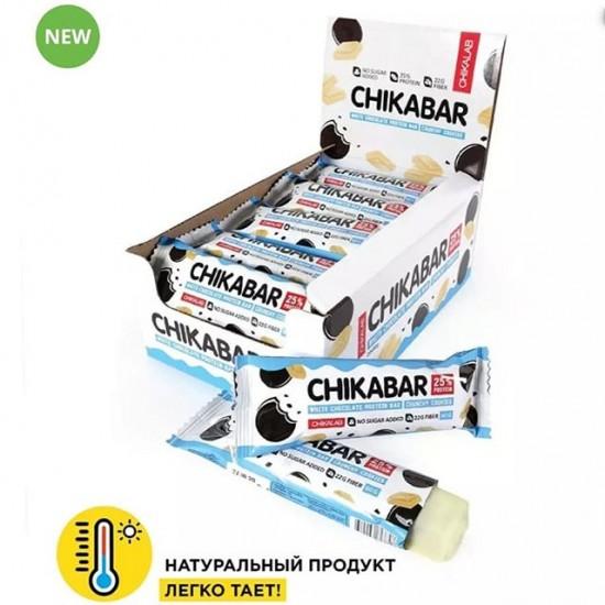 CHIKALAB Протеиновый батончик CHIKABAR 60г, Хрустящее печенье