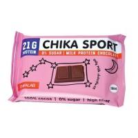CHIKALAB Молочный шоколад с миндалем, 100г