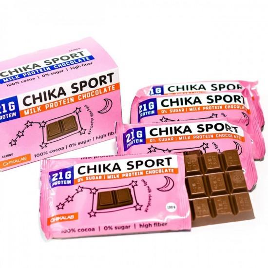 CHIKALAB Молочный шоколад, 100г