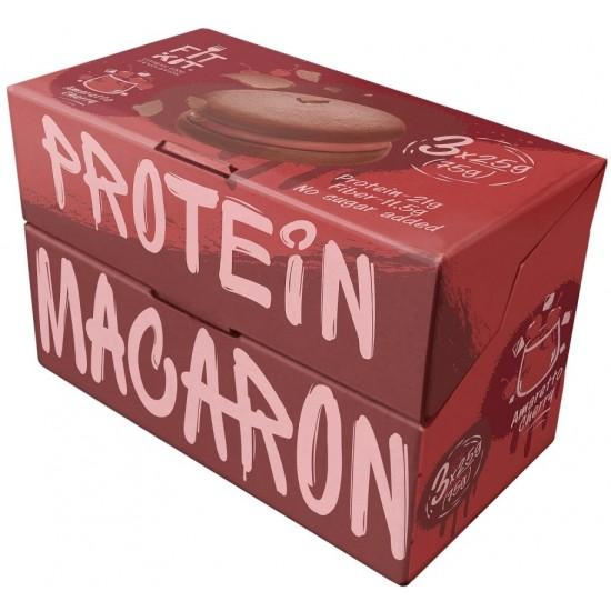 FIT KIT Protein Macaron 75г, Вишня-амаретто