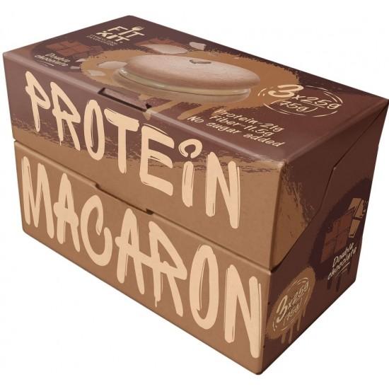 FIT KIT Protein Macaron 75г, Двойной шоколад