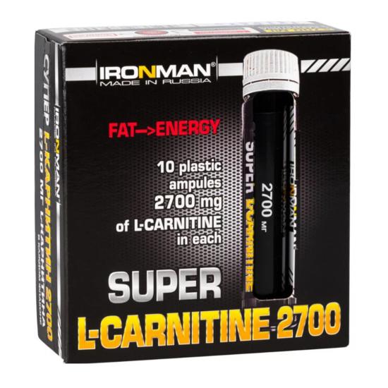 """IRONMAN"" Супер L-Карнитин 2700 25мл"