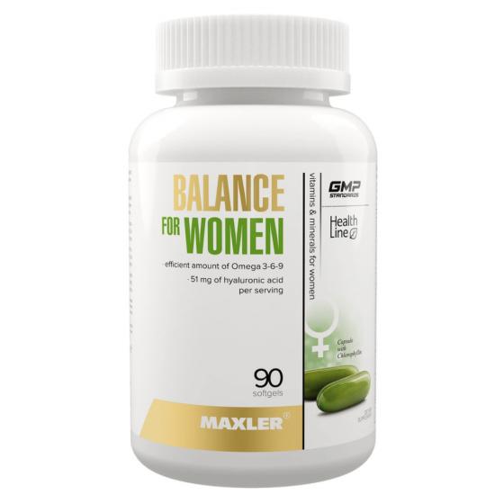 MAXLER BALANCE FOR WOMEN 90 кап