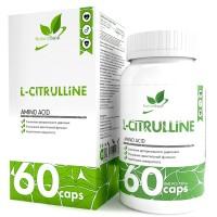 NaturalSupp L-CITRULLINE 60капс