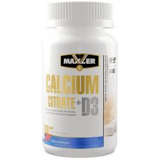 MAXLER CALCIUM Citrate + D3 120 таб