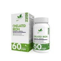NaturalSupp CHELATED IRON 60капс