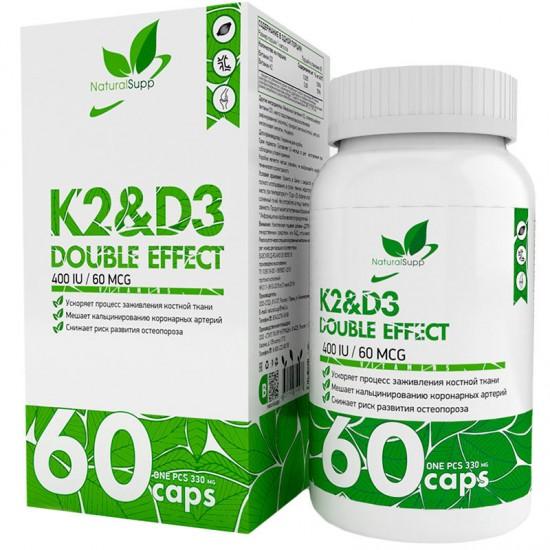 NaturalSupp K2&D3 60капс