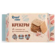 PROTEIN REX Royal cake Крекеры 84г, Гималайская соль и семена чиа