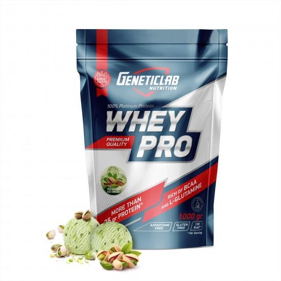 GENETICLAB Whey Pro 1 кг, Фисташка