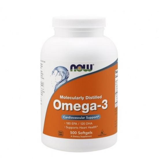 NOW Omega-3 500 caps