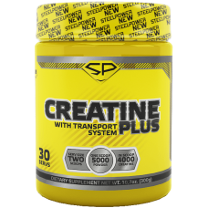STEEL POWER Creatine Plus 300г, Барбарис