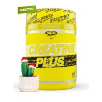 STEEL POWER Creatine Plus 300г, Рождественский кактус