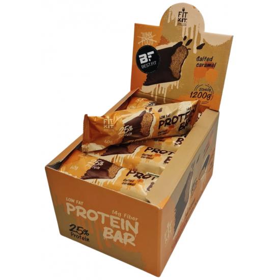 FIT KIT Protein Bar 60г, Соленая карамель