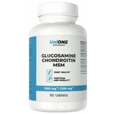 UniONE Glucosamine-Chondroitin-Msm 90 таб