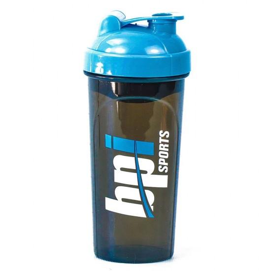 BPI SPORT шейкер 700мл, голубой/черный