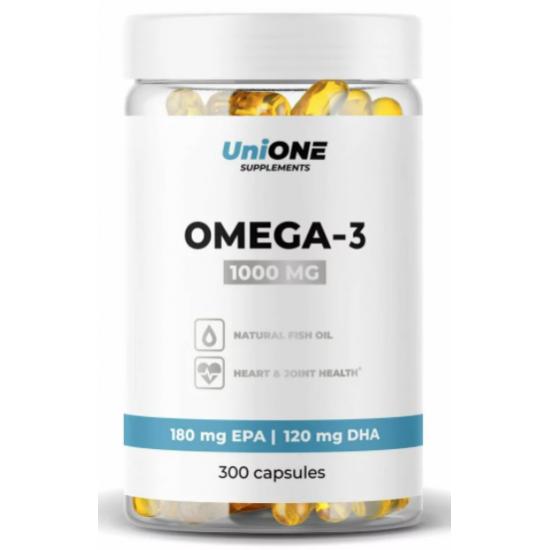 UniONE Omega-3 300 кап