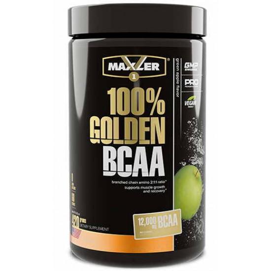 MAXLER 100% Golden BCAA 420г, Зеленое яблоко
