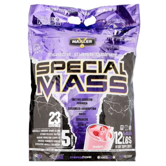 MAXLER Special Mass Gainer 5.45 кг, Клубника