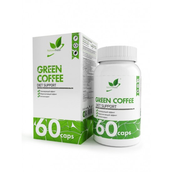 NaturalSupp GREEN COFFEE 60 капс