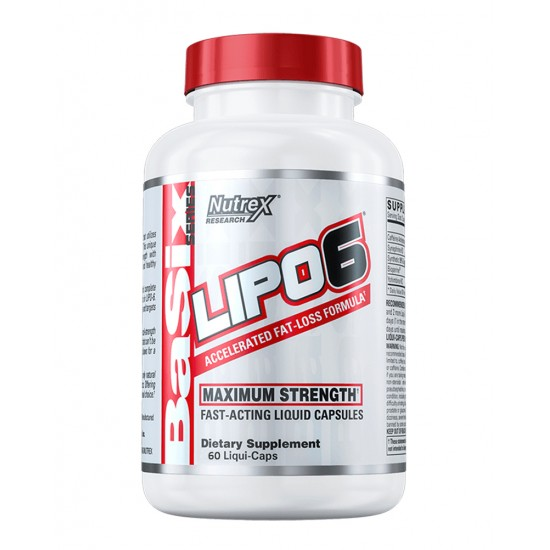 NUTREX Lipo-6 60 кап