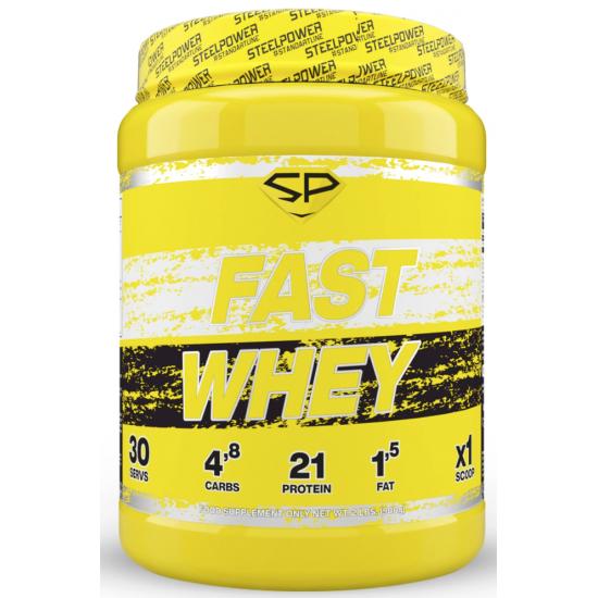 STEEL POWER Fast Whey Protein 900г, Печенье-шоколад-карамель