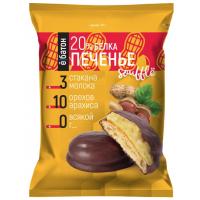 Протеиновое печенье ё|батон с суфле, 50г, Арахис