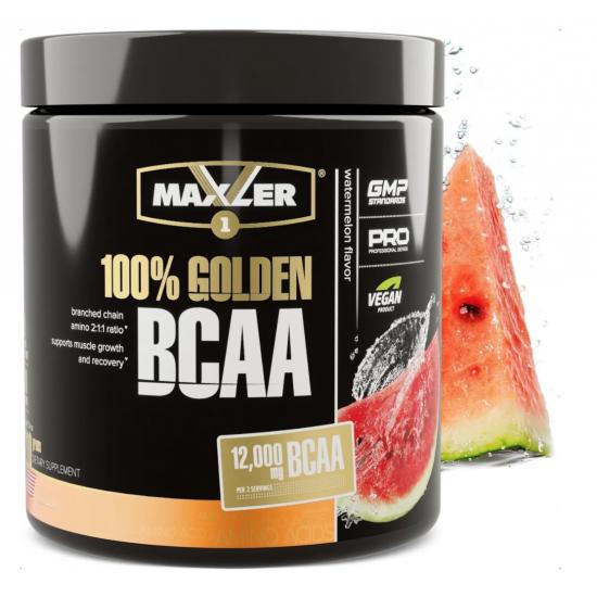 MAXLER 100% GOLDEN BCAA 210 гр, Арбуз