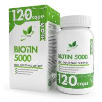 NaturalSupp BIOTIN 5000мкг 120 капс
