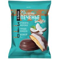 Протеиновое печенье ё|батон с суфле, 50г, Кокос