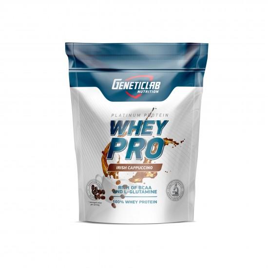 GENETICLAB Whey Pro 1 кг, Капучино