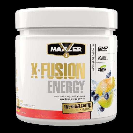 MAXLER X-FUSION ENERGY 330 гр, Черника-груша